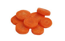 Coin Cut Carrots