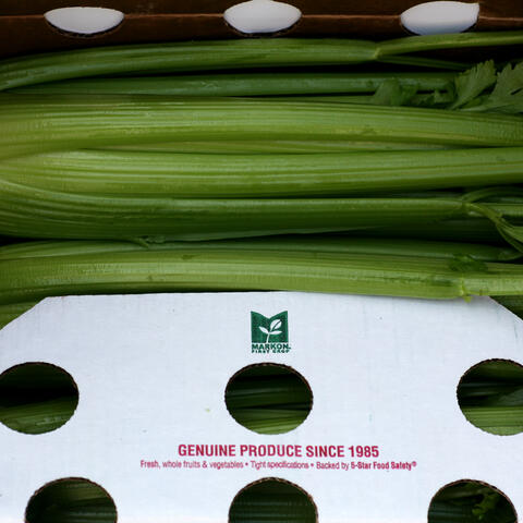 First 40-pound Celery Pack