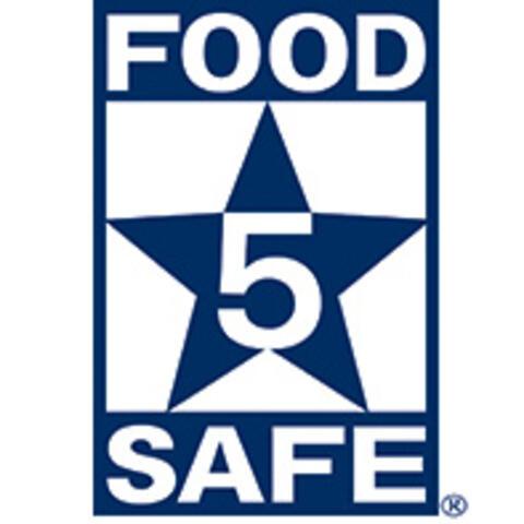 5-Star Food Safety Logo