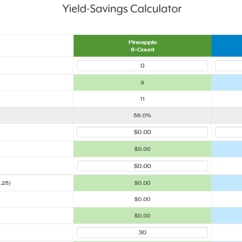 Yield Savings Calculator